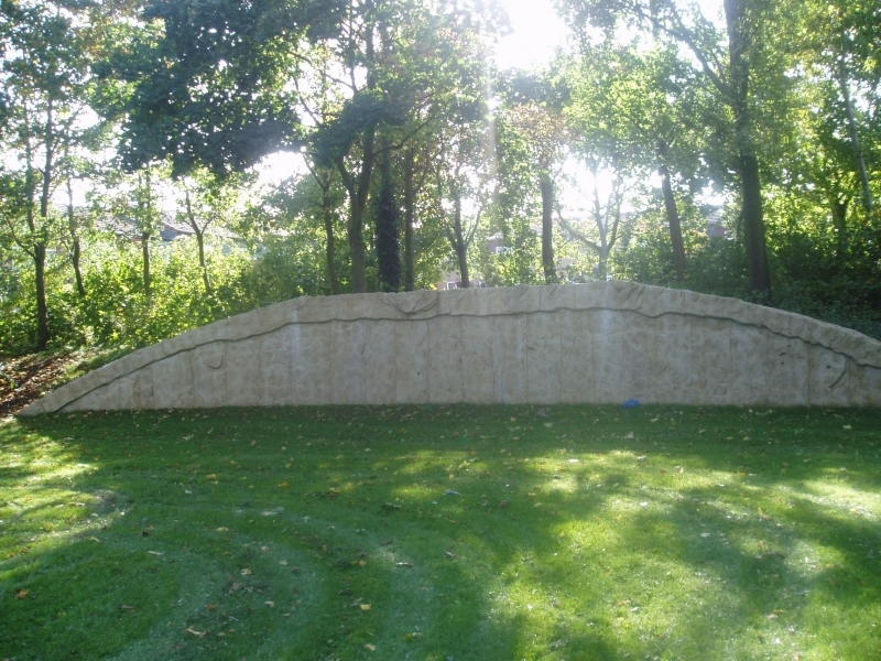 stone hand made wall