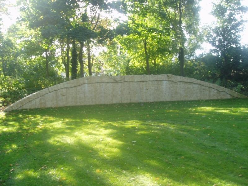 large stone wall